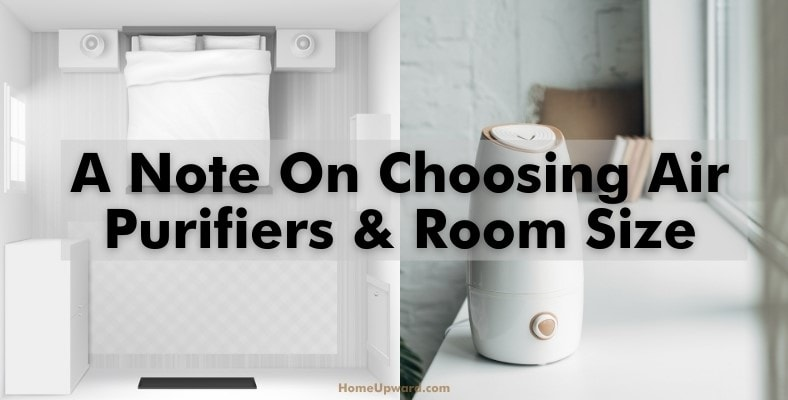 a note on choosing air purifiers and room size