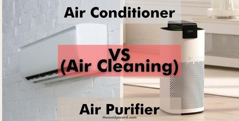 air conditioner vs air purifier