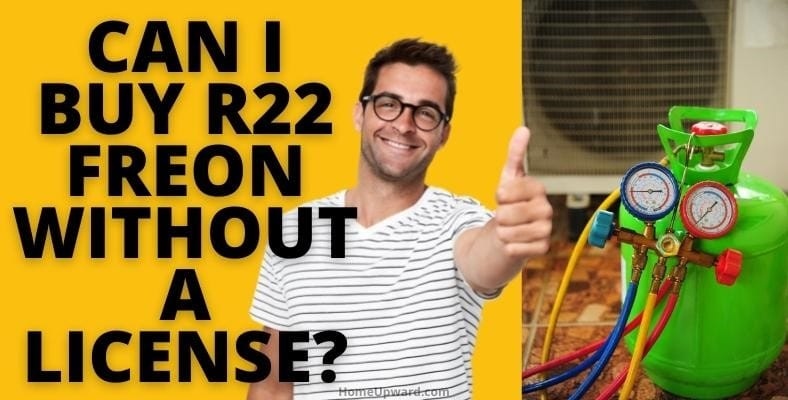 can i buy r22 freon without a license