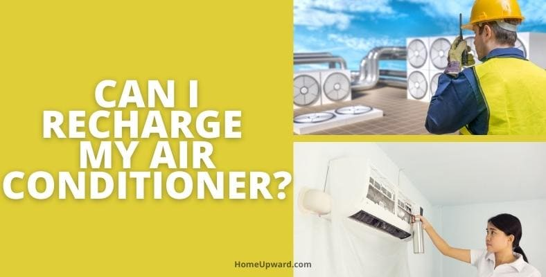 can i recharge my air conditioner