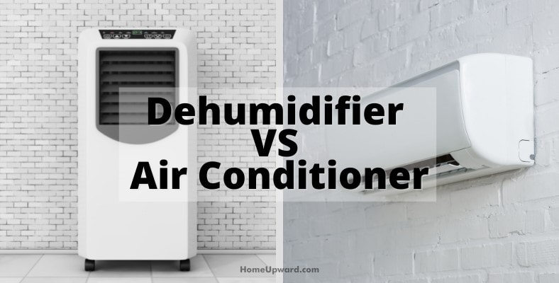 dehumidifier vs air conditioner