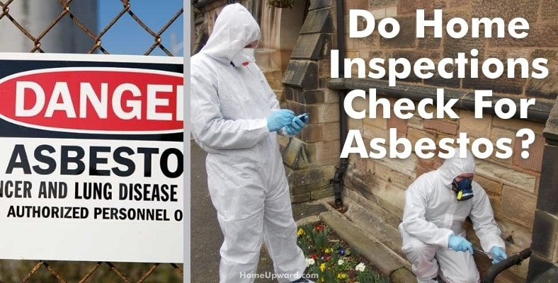 do home inspections check for asbestos