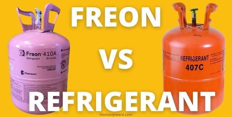 freon vs refrigerant