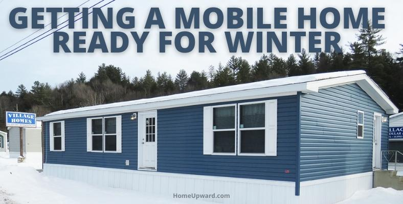 getting a mobile home ready for winter