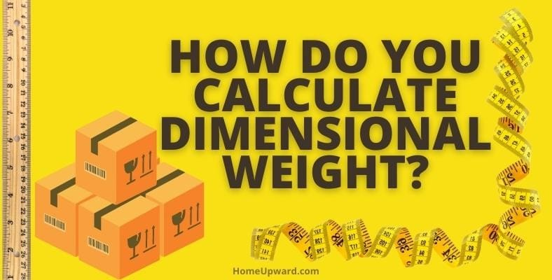 how do you calculate dimensional weight