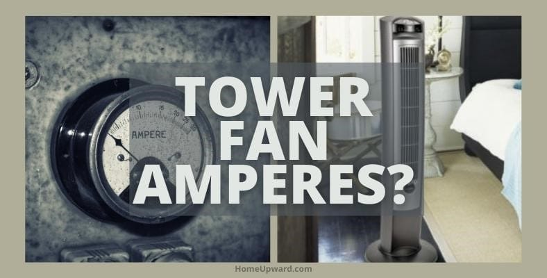 how many amps does a tower fan use