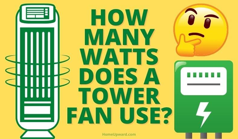 how many watts does a tower fan use featured image