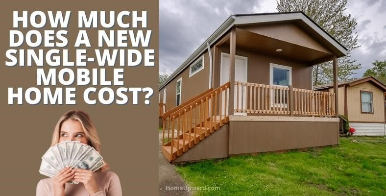 how much does a single wide mobile home cost