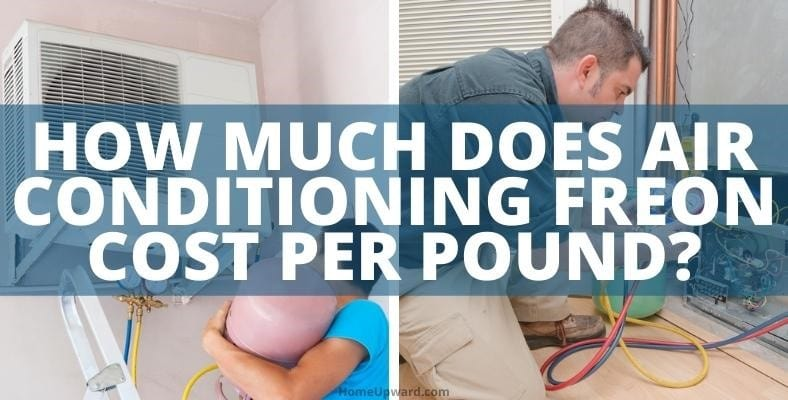 how much does air conditioning freon cost per pound