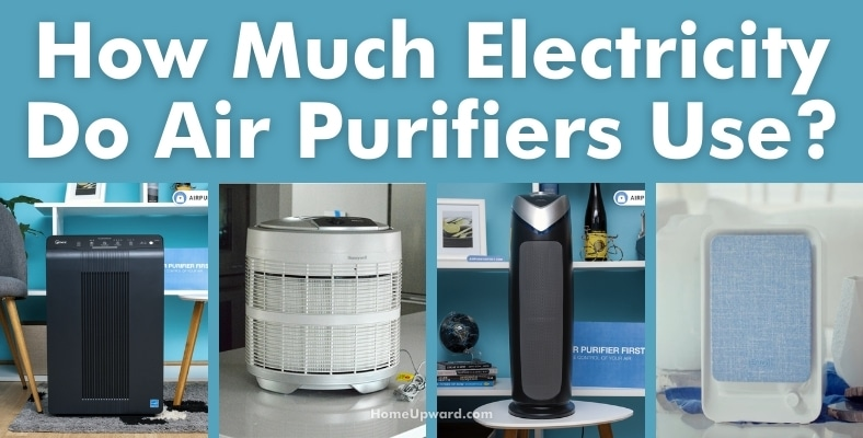 how much electricity do air purifiers use