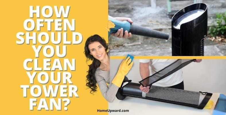 how often should you clean your tower fan