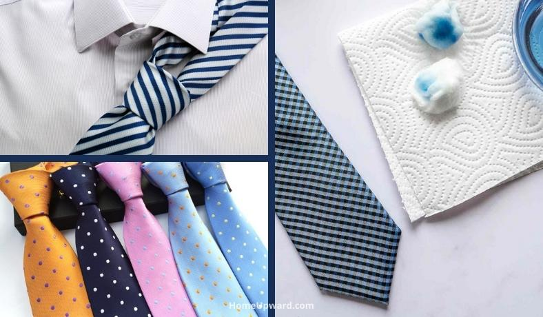 how to clean neckties at home the right way featured image