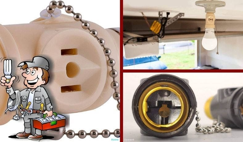 How to convert a light bulb socket to an outlet featured image