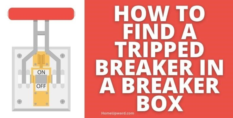 how to find a tripped breaker in a breaker box