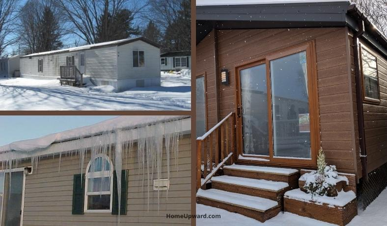 how to keep a mobile home warm during the winter featured image