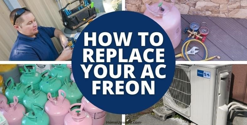how to replace your ac freon