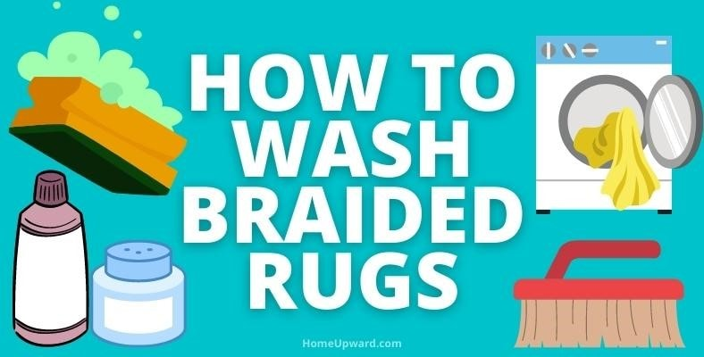 how to wash braided rugs