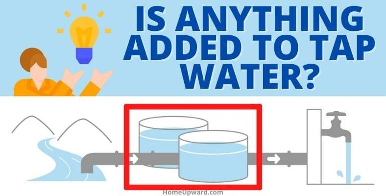 is anything added to tap water