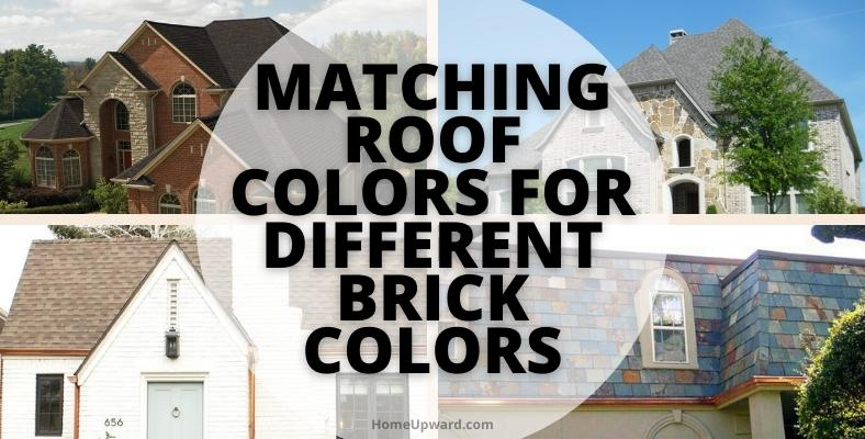 matching roof colors for different brick colors