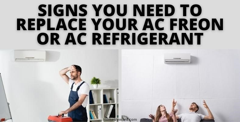 signs you need to replace your ac freon or ac refrigerant