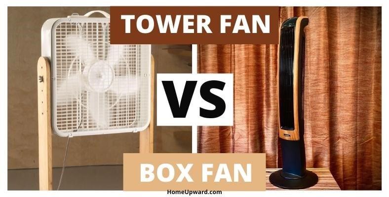 tower fan vs box fan