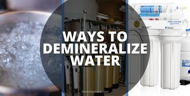 ways to demineralize water