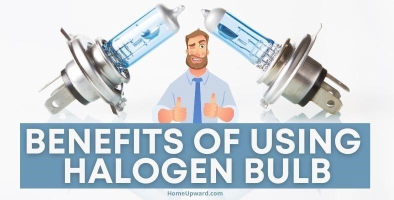 benefits of using halogen bulb
