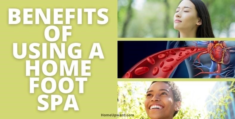 what are the benefits of using a home foot spa