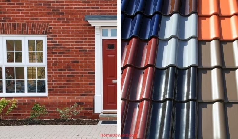 what color roof shingles are best for a red brick home featured image