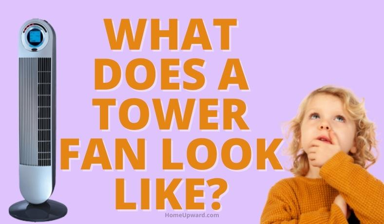 what does a tower fan look like featured image