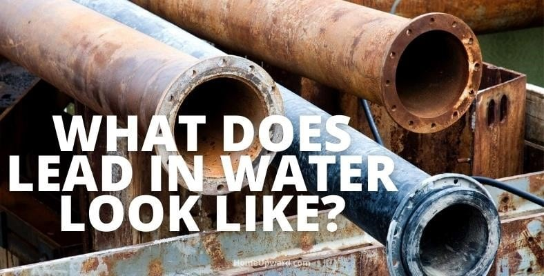 what does lead in water look like