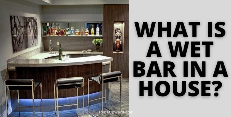what is a wet bar in a house