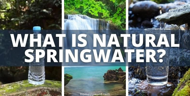 what is natural springwater