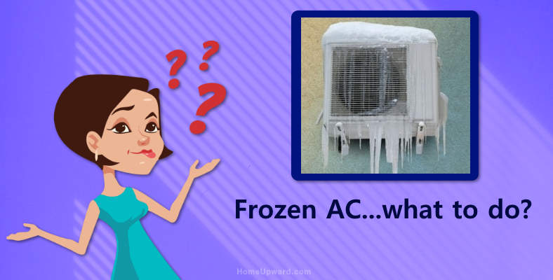 What to do when home AC freezes up