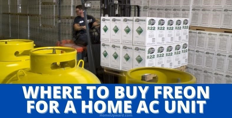 where to buy freon for a home ac unit