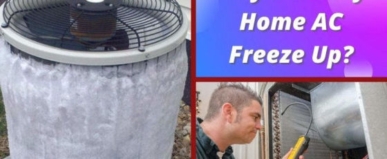Why Does My Home AC Freeze Up? Frozen Air Conditioner Answers