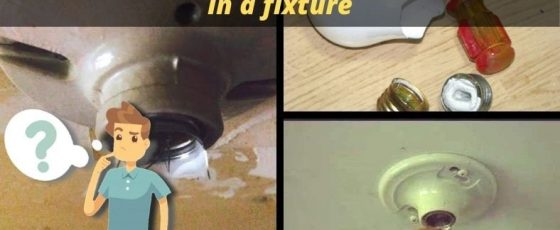 How To Remove A Light Bulb Stuck In A Fixture – Stuck Bulb Help And Tips