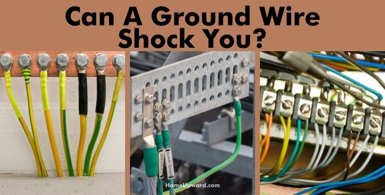 can a ground wire shock you