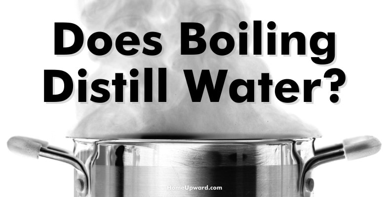 does boiling distill water