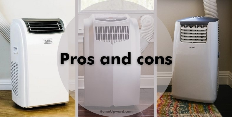 pros and cons of portable air conditioners