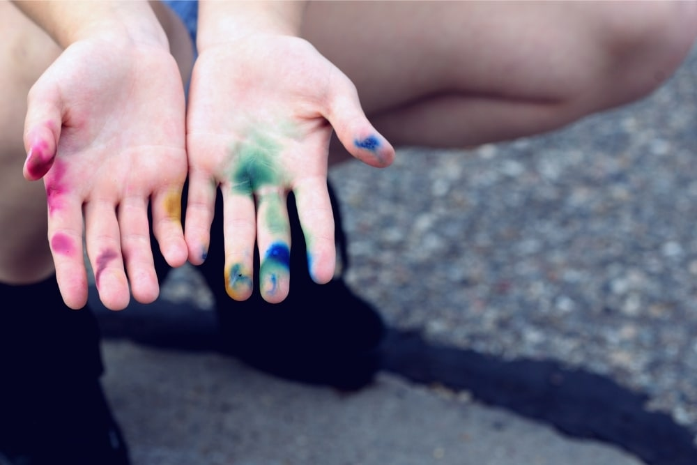 How To Remove Food Coloring Stains From Skin