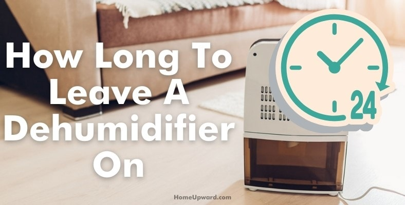 how long to leave a humidifier on