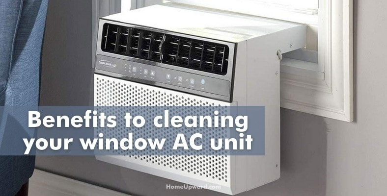 benefits to cleaning your window ac unit
