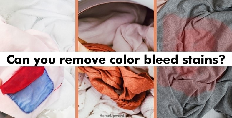 can you remove color bleed stains