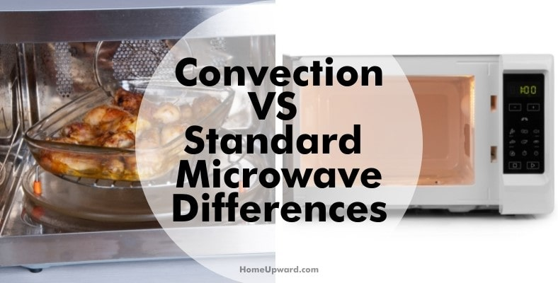 convection vs standard microwave differences