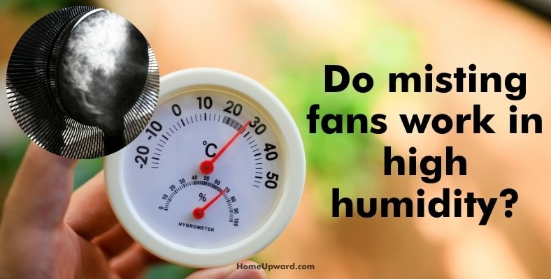 do misting fans work in high humidity