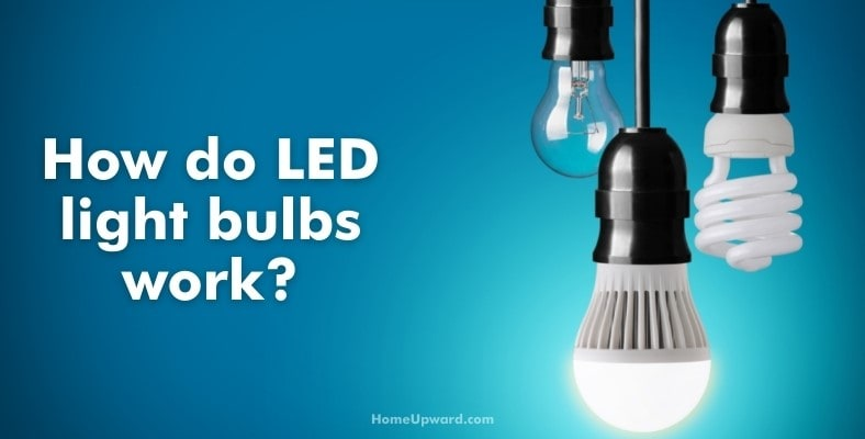 how do led light bulbs work