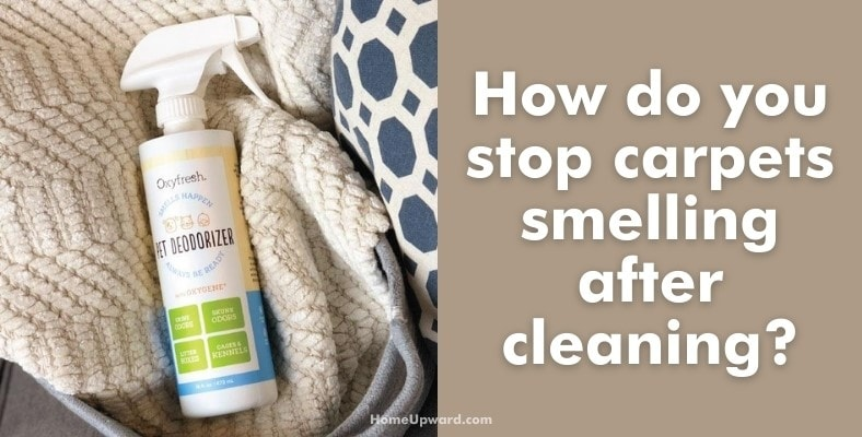 how do you stop carpets smelling after cleaning