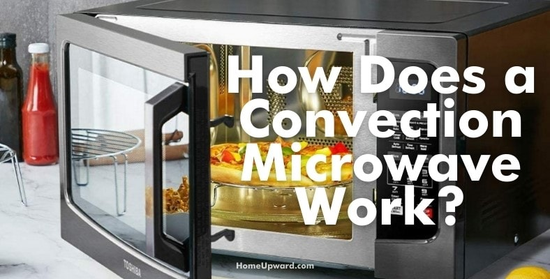 how does a convection microwave work