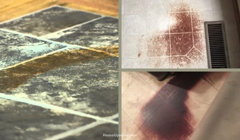 how to remove rust stains from linoleum flooring featured image